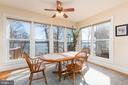Enjoy the view from the kitchen and breakfast room - 9403 LUDGATE DR, ALEXANDRIA