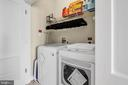 Convenient upper level laundry - 46448 RILASSARE TER, STERLING