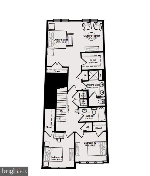 Upper level floor plan - 46448 RILASSARE TER, STERLING