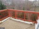 View from Master Bedroom Balcony - 20344 CENTER BROOK SQ, STERLING