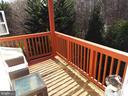 Wooded View from Balcony - 20344 CENTER BROOK SQ, STERLING