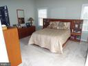 Master Bedroom with Cathedral Ceiling - 20344 CENTER BROOK SQ, STERLING