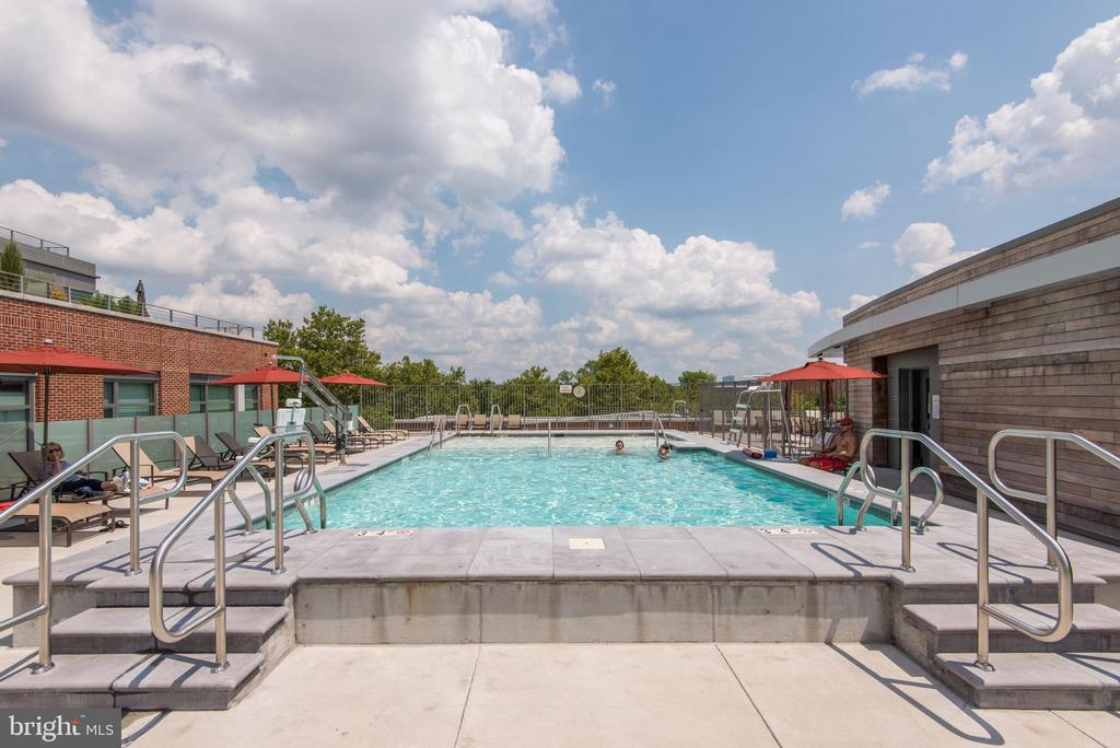 Swimming Pool - 601 N FAIRFAX ST #605, ALEXANDRIA
