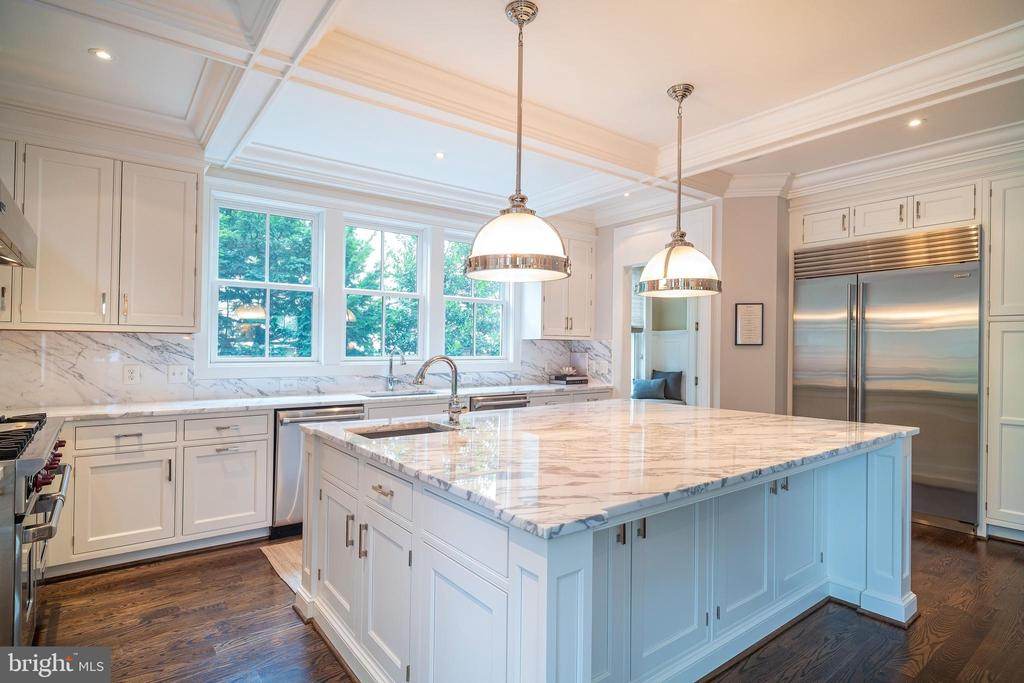 Kitchen - 6303 BROAD BRANCH RD, CHEVY CHASE