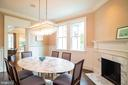 Formal Dining Room - 6303 BROAD BRANCH RD, CHEVY CHASE