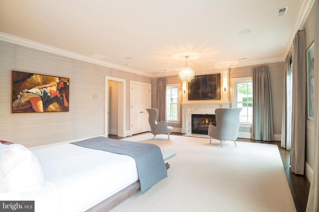 Master Bedroom - 6303 BROAD BRANCH RD, CHEVY CHASE