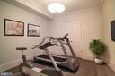 5th Bedroom or Exercise Room - 6303 BROAD BRANCH RD, CHEVY CHASE