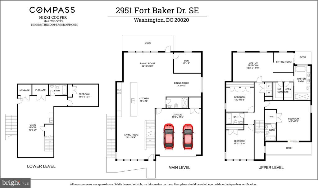 Floor plan. - 2951 FORT BAKER DR SE, WASHINGTON