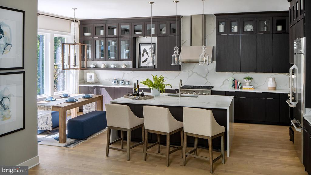 Rockledge Kit-Breakfast Area-May Reflect Options - 3223 CAVALIER WOOD RD, ELLICOTT CITY