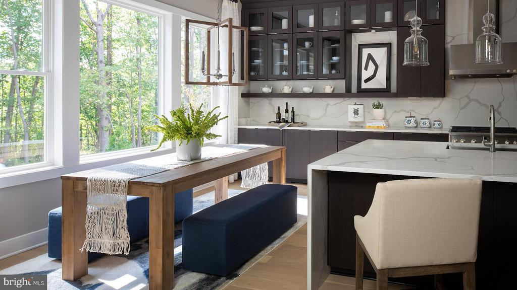 Rockledge Kitc-Breakfast Area-May Reflect Options - 3223 CAVALIER WOOD RD, ELLICOTT CITY