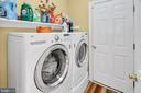 Mud room/laundry room/entry from garage - 47285 OX BOW CIR, STERLING