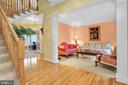 Hdwd flooring carries thu-out many of the rooms - 47285 OX BOW CIR, STERLING