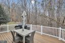 Enjoy the sounds of nature while relaxing outside - 47285 OX BOW CIR, STERLING
