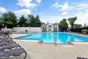 Lovely large pool - 1575 N VAN DORN ST, ALEXANDRIA