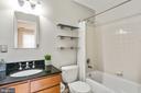 Hall bath upper level - 1575 N VAN DORN ST, ALEXANDRIA