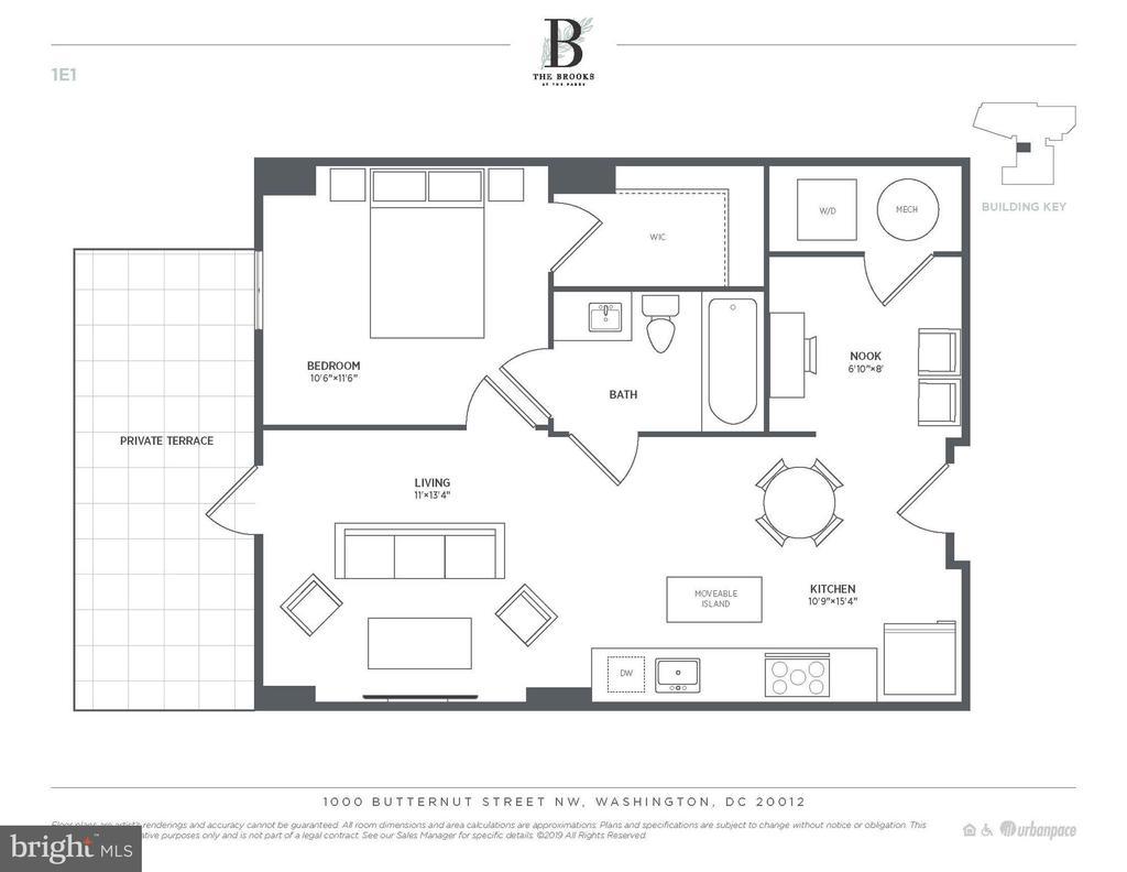 Unit 14 floor plan - 6803 CAMERON DR NW #114, WASHINGTON