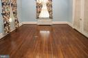 large dining room with hardwood floors - 909 WEST KING, MARTINSBURG