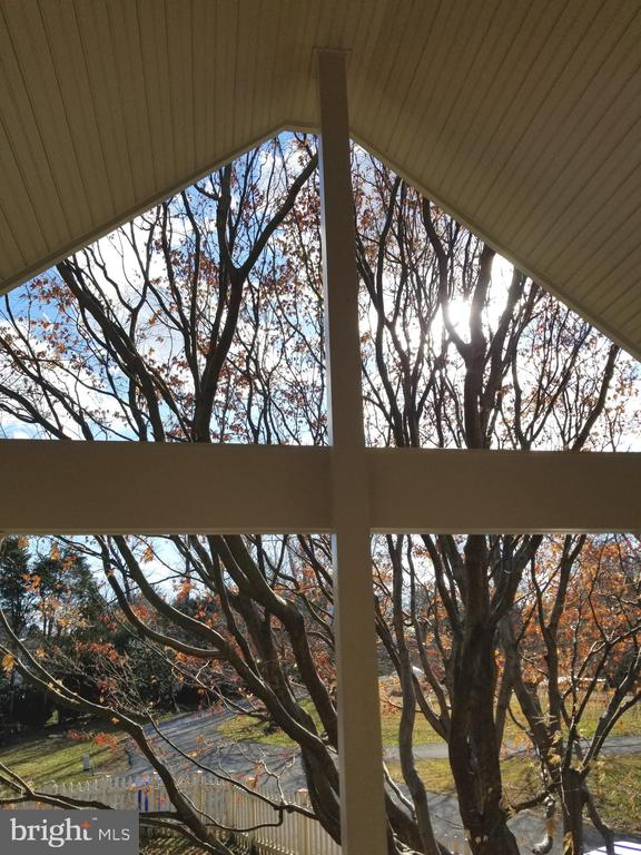 Beautiful view from porch outside of kitchen - 13403 PULVER PL, GAITHERSBURG