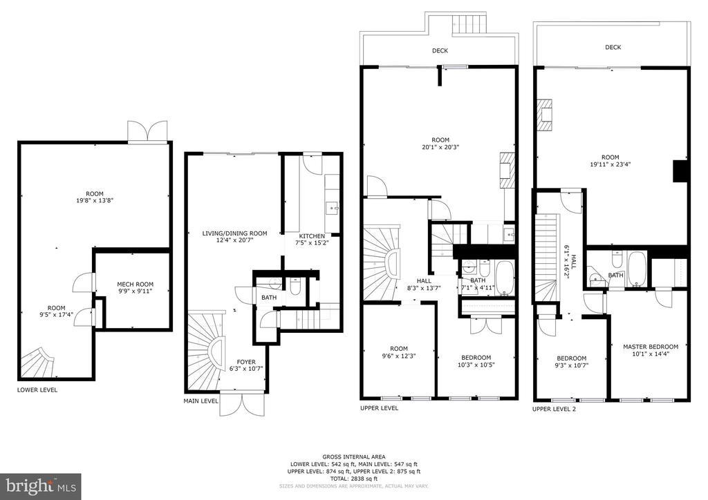 3524 K St. NW Floor Plans - 3524 - 3526 K ST NW, WASHINGTON