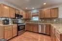 Amazing kitchen with Granite CT and Back splash! - 4 MARKHAM WAY, STAFFORD