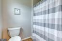 Hall bathroom has separate  toilet & shower - 4 MARKHAM WAY, STAFFORD