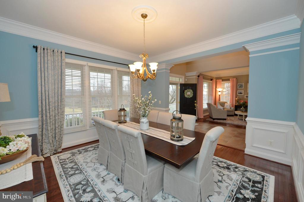 Dining Room View Two - 36335 SILCOTT MEADOW PL, PURCELLVILLE