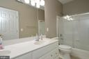 Hall Bath with Double Sink Vanity - 36335 SILCOTT MEADOW PL, PURCELLVILLE