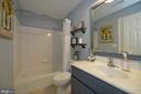 Lower Level Full Bath - 36335 SILCOTT MEADOW PL, PURCELLVILLE