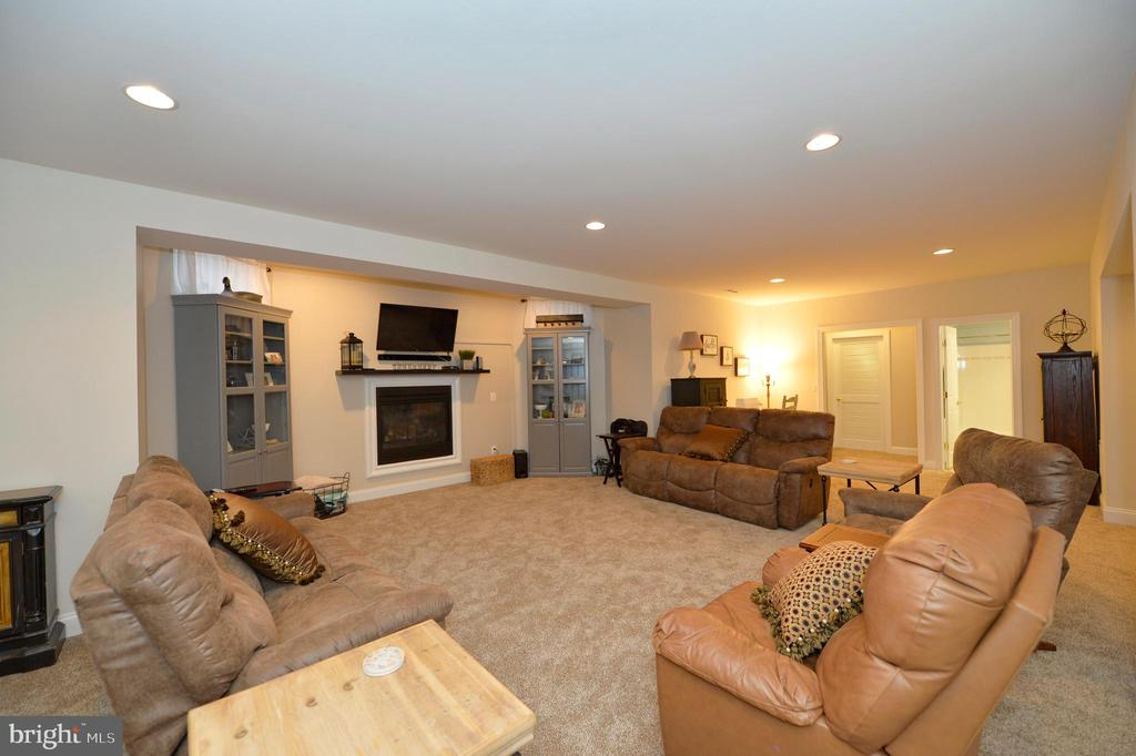 Lower Level Recreation Room - 36335 SILCOTT MEADOW PL, PURCELLVILLE