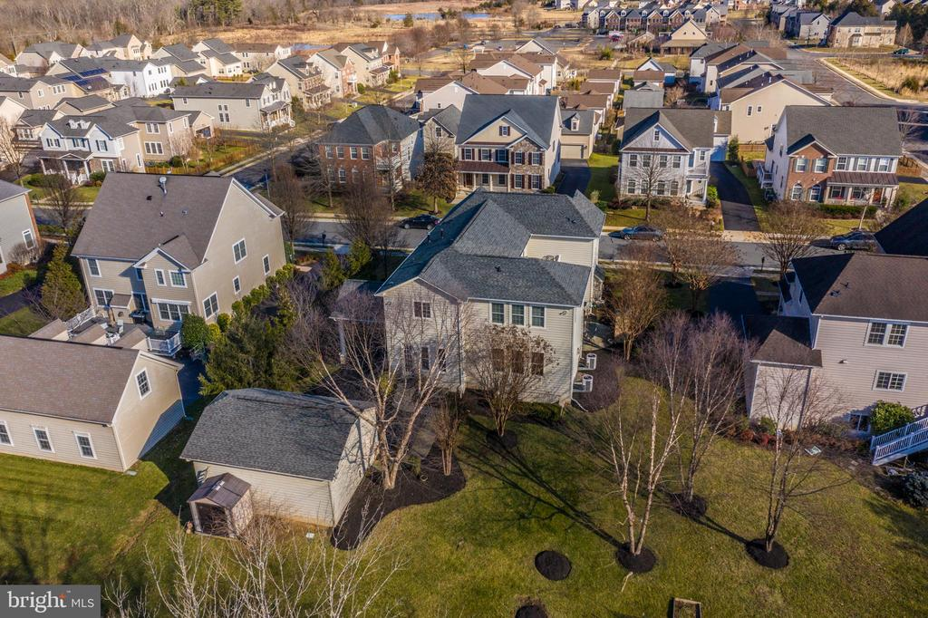 Aerial View of the Property and Community - 21883 KNOB HILL PL, ASHBURN