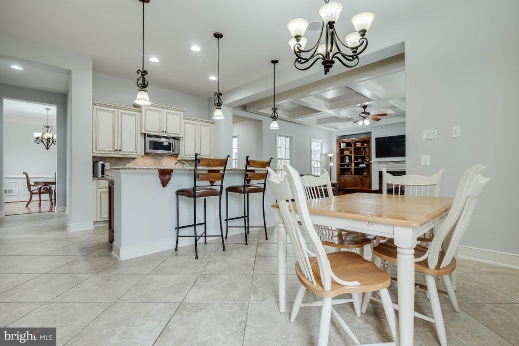 Gourment Kitchen with Breakfast Room - 21883 KNOB HILL PL, ASHBURN