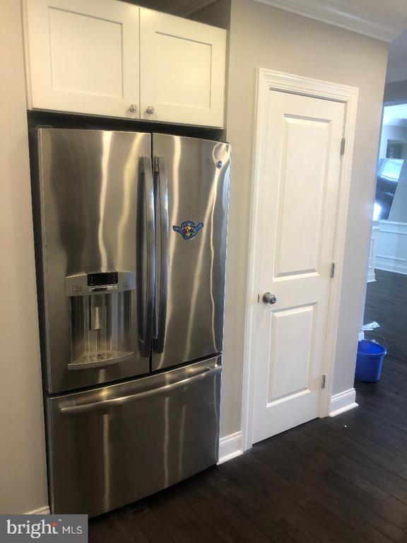 Kitchen Refrigerator and Pantry - 3002 FRANKLIN ST NE, WASHINGTON