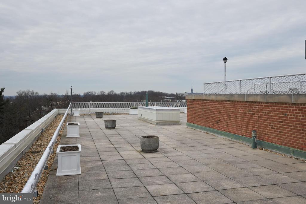 Greenbriar Rooftop Deck - 4301 MASSACHUSETTS AVE NW #4011, WASHINGTON