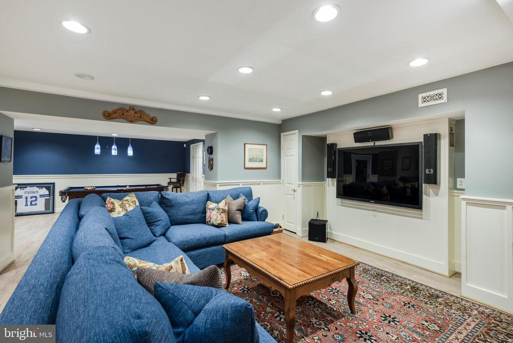 Great Room on the LL...spread out everyone. - 136 LAFAYETTE AVE, ANNAPOLIS