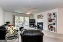 Living/Family room - 7700 LAFAYETTE FOREST DR #23, ANNANDALE