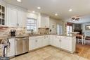 Eat-In Kitchen | Granite Countertops - 10419 GORMAN RD, LAUREL
