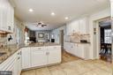 Eat-In Kitchen | Decorative Backsplash - 10419 GORMAN RD, LAUREL