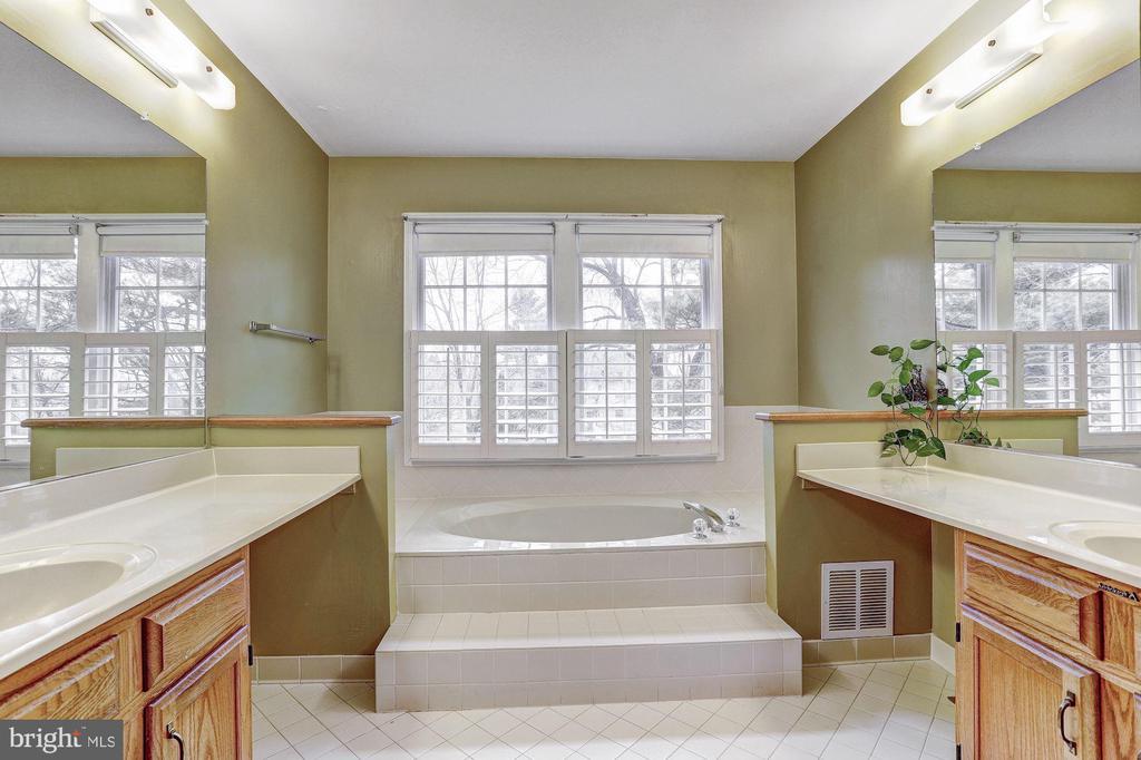 Master Bath | Soaking Tub - 10419 GORMAN RD, LAUREL