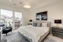 Master Bedroom Glowing with Natural Light - 917 S ST NW #2, WASHINGTON