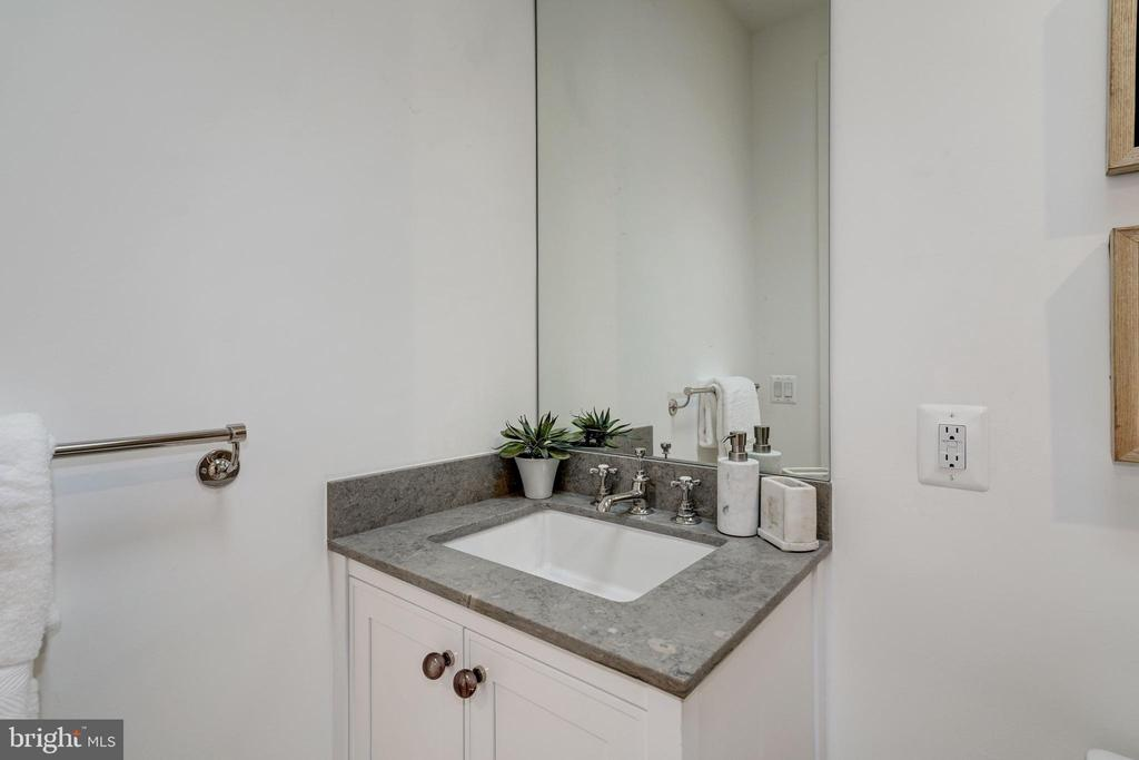 Guest Bathroom Vanity - 917 S ST NW #2, WASHINGTON