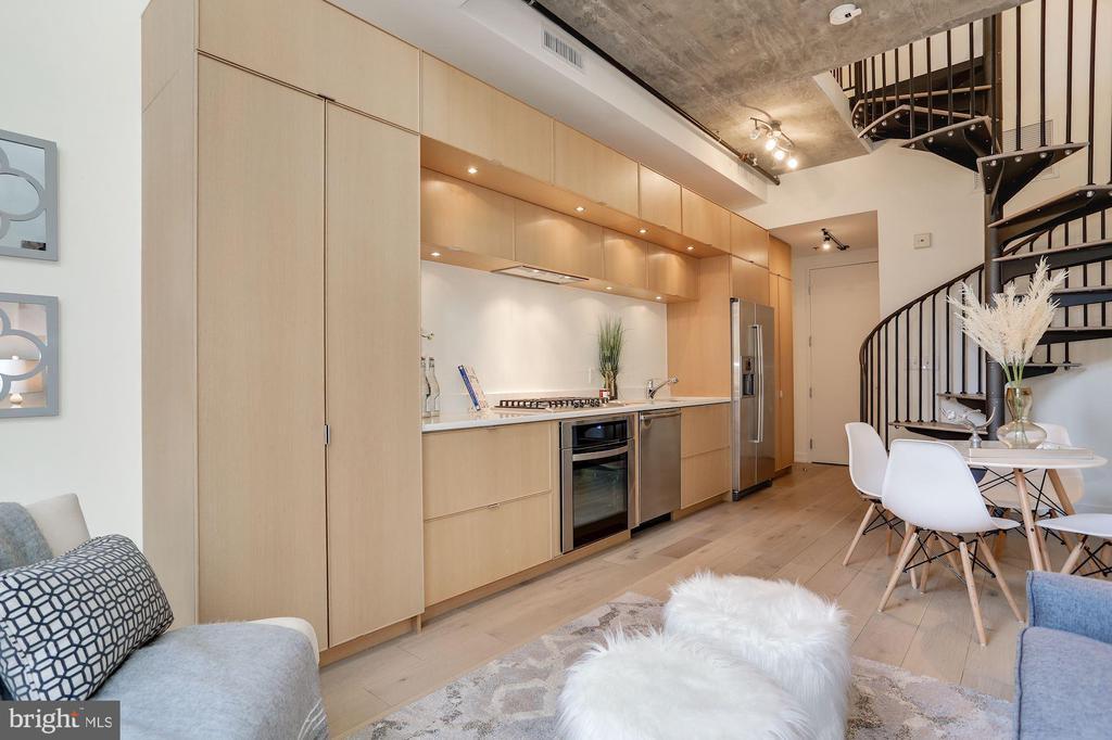 Great open kitchen - 1515 15TH ST NW #206, WASHINGTON
