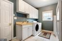 Separate Laundry Room with extra Refrigerator - 47747 BRAWNER PL, STERLING