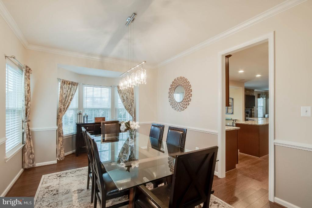 Lovely Formal Dining Room - 26003 KIMBERLY ROSE DR, CHANTILLY