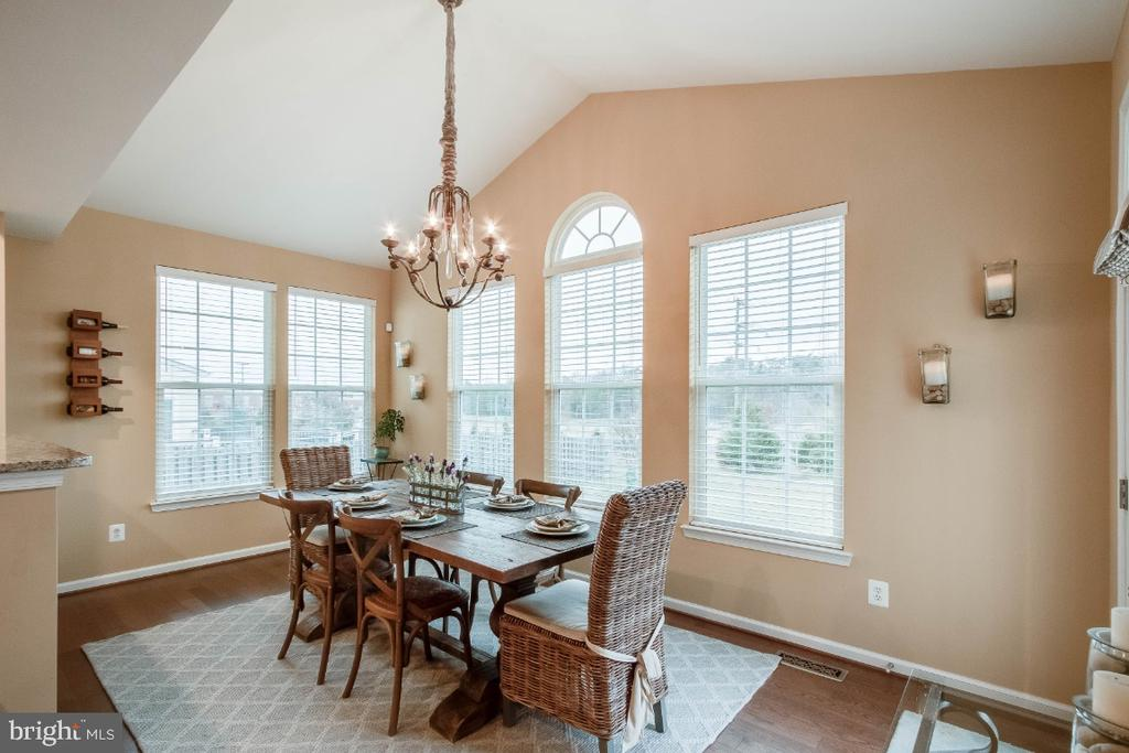 Open & Bright Morning Room - 26003 KIMBERLY ROSE DR, CHANTILLY