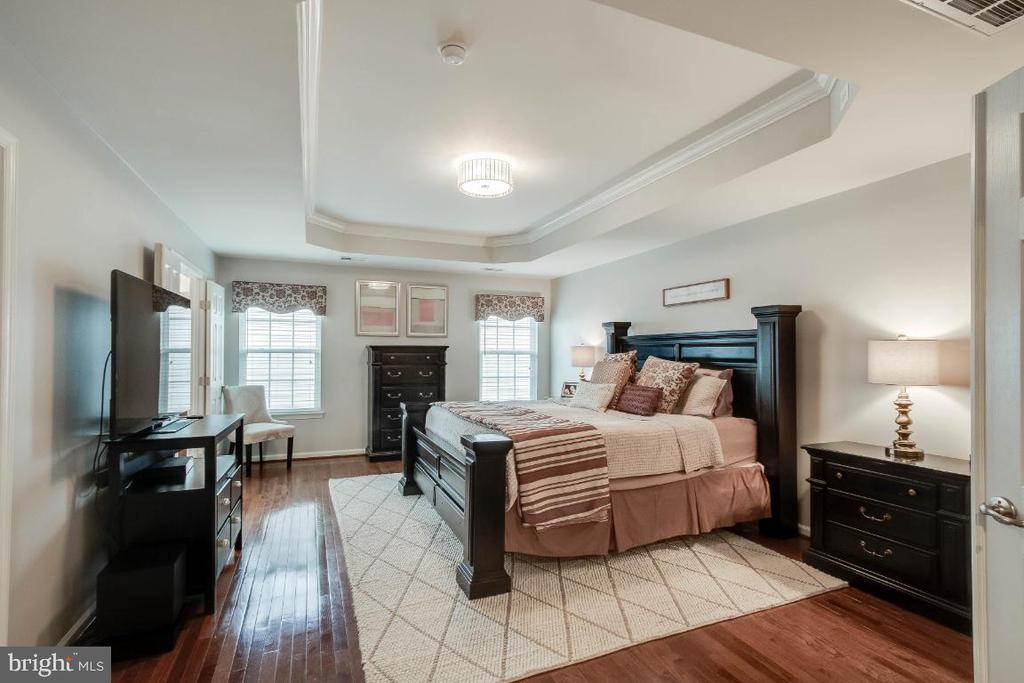 Amazing Master Suite with Hardwood Floors - 26003 KIMBERLY ROSE DR, CHANTILLY