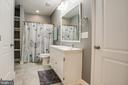 Lower-level full bathroom - 2252 PARTLOW RD, BEAVERDAM