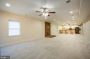 Large recreation room - 2252 PARTLOW RD, BEAVERDAM