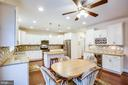 Great kitchen and cabinet space - 2252 PARTLOW RD, BEAVERDAM