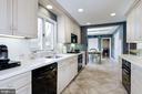 Reno kit w/ stone counters, dual ovens, gas range - 6951 GREENTREE RD, BETHESDA