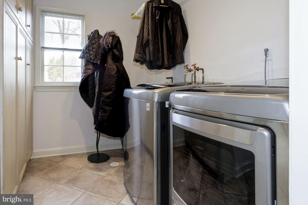 Mudroom/Laundry off the kitchen with extra storage - 6951 GREENTREE RD, BETHESDA